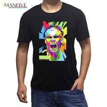Spanish player Rafael Nadal Rafa ART Mens T Shirts cotton Geek Short Sleeve Top Tee tshirt man summer teeshirt
