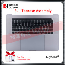 "Asli A1707 Tempat Berteduh Topcases Cover untuk MacBook Pro Retina 15.4 ""A1707 Kami Keyboard + Trackpad + A1820 Battery Assembly 2016 2017(China)"