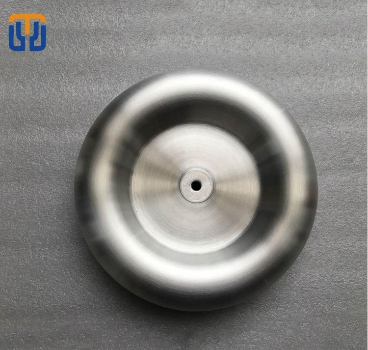 Tesla coil alloy top load diy SSTC DRSSTC parts Diameter 300mm height 75mm