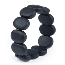 100%Quality Real Bianshi Black Bian Natural Stone Bianshi Bracelet Carve Black