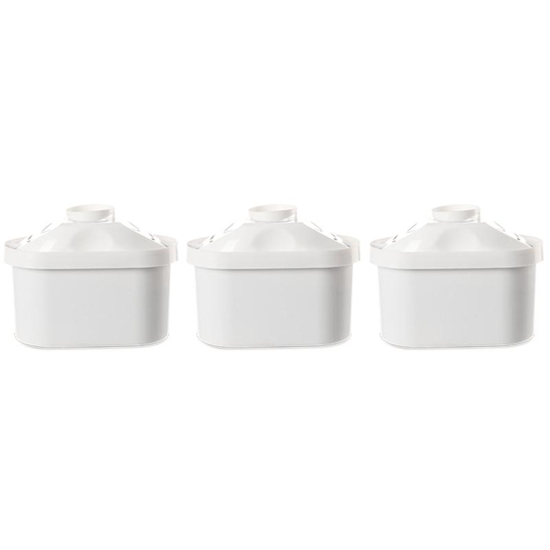 EAS-Water Filter Cartridge Filter Universal Water Jugs Home Cartridge Purifier for Jar Brita Maxtra Water Decalcification