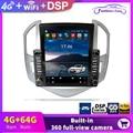 10,4-дюймовый Android автомобильный радиоплеер навигация GPS для Chevrolet Cruze J300 J308 2012 - 2015 мультимедийный Тип Тесла