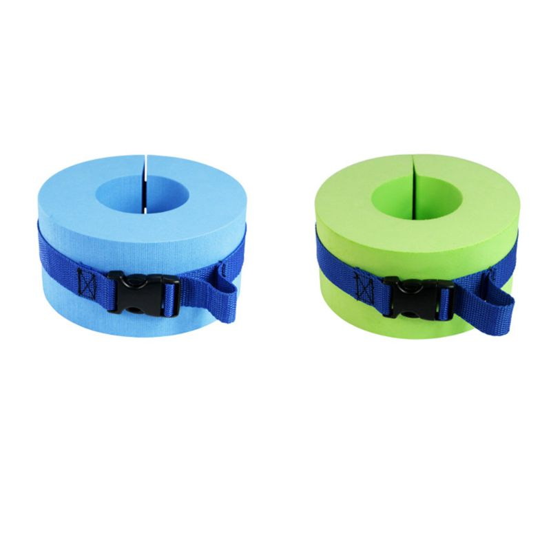 1 Pair  Foam Swim Aquatic Cuff Water Aerobics Float Ring Fitness Exercise  Ankles