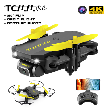TCMMRC Mini drone 4k profesional wifi dron quadrocopter fpv drone with 4k HD camera RC foldable gps Selfie Drones for mini Toys with an extra battery original zerotech dobby pocket selfie drone fpv with 4k hd camera gps mini rc quadcopter drone