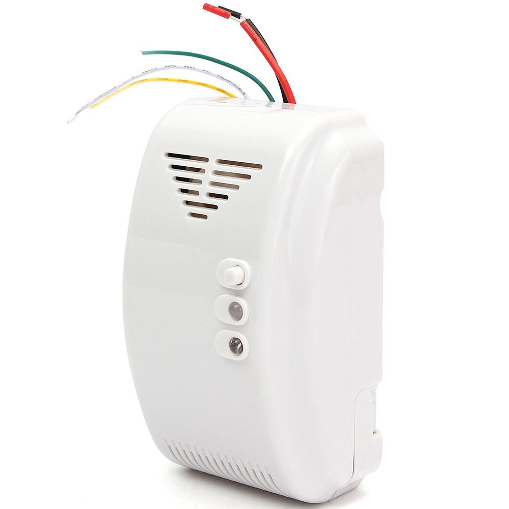 12V Home Security Propane Butane LPG Naturals Gas Leakage Detector Sensor Alarm