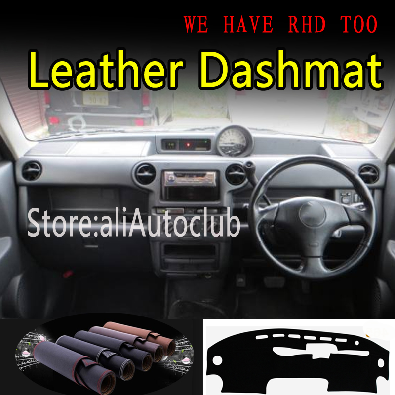For Toyota BB XP30 SCION XB G1 2000 2003-2006 Leather Dashmat Dashboard Cover Dash Mat Sunshade Carpet Car Styling Accessories