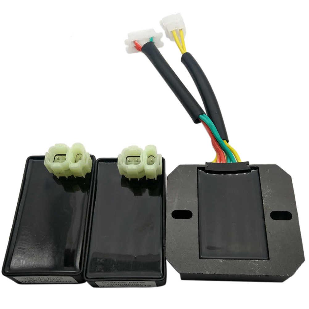 Pièces d'identification numérique CDI régulateur accessoires en métal durables Standard facile à installer moto pour XL600 V Transalp