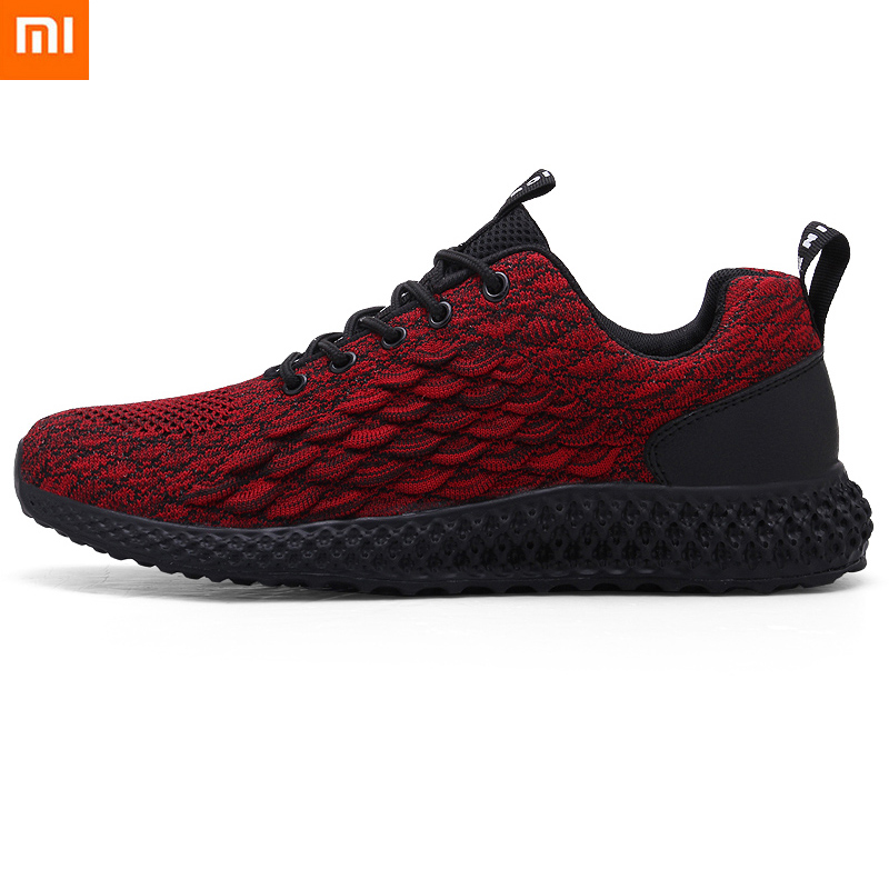 New Xiaomi Shoes Fashion Breathable Sneaker Men s Casual Shoes Comfortable Non-slip Wear-resisting Sports Men s Jogging Shoes