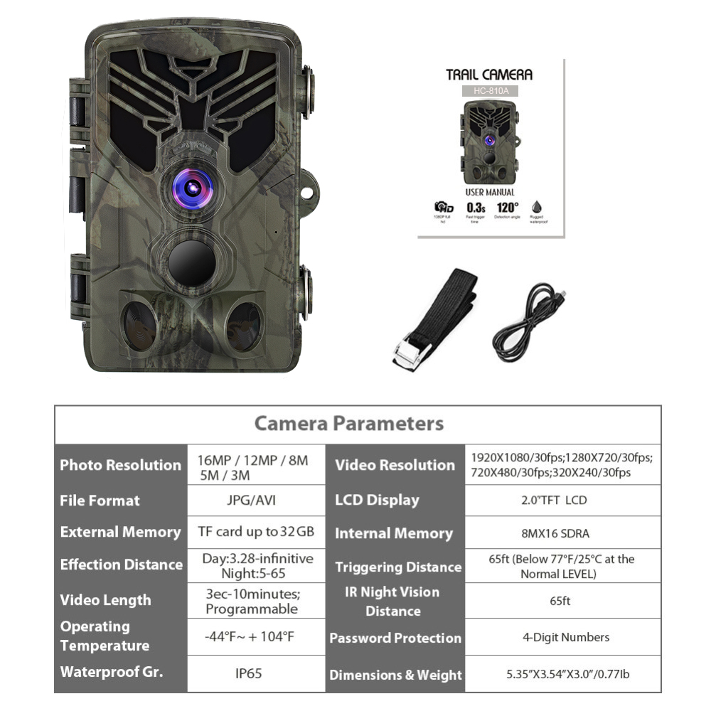 Muddy Hunting Waterproof Trail Camera with 32GB SD Card (Camera with 32GB) 6