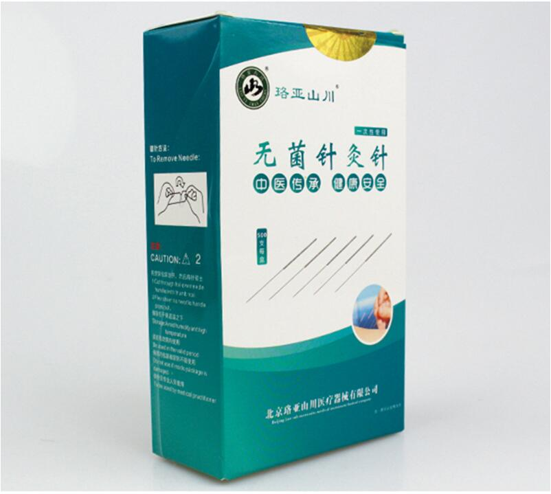 500pcs /pack Acupuncture Needles 500 Needle Acupuncture Disposable Needle Beauty Massage Sterilze Needle