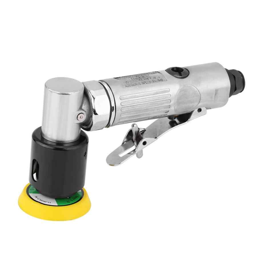 Pneumatic Sanding Polishing Grinding Tool for Wood Metal Furniture,15000 RPM Free Speed with 3in Grinding Disc 2in//3in Air Orbital Sander Polisher with 1//4in Inlet Air Angle Sander