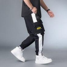 Cargo-Pants Hip-Hop-Spring Streetwear Male Man Color-Block 7XL Xxxxl Men 6XL