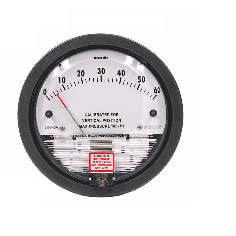 Micro Pressure Gauge, Negative Pressure Gauge, Air Micro Pressure Gauge For Aquaculture, Wind Pressure Gauge