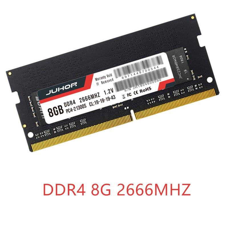 RAM chaude DDR4 8 GB ordinateur portable 2400MHz mémoire 8 GB DDR 4 Memoria ram pour ordinateur portable portable DIMM ordinateur de bureau de mémoire Support carte mère ddr4