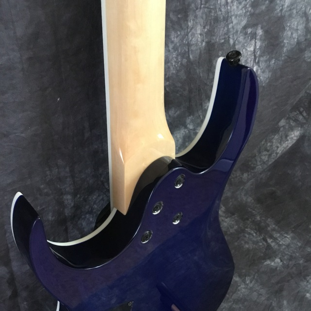 Beautiful POD-Sky7-  7-string electric guitar blue 4