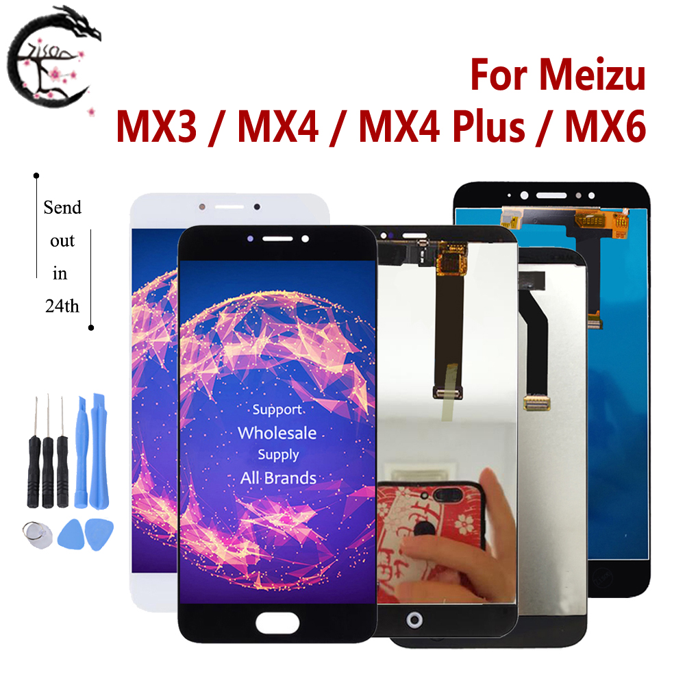 LCD For Meizu MX3 MX4 Plus MX6 LCD Display Touch Screen Sensor Digitizer Assembly Display MX4plus Display Replacement Tested OK