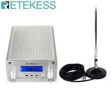 Retekess TR502 15 Вт fm-передатчик мини-радиостанция PLL Bluetooth Беспроводная трансляция+ мощность+ антенна автомобильный кинотеатр кампус вещание