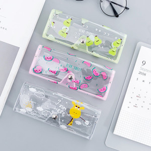 Image 4 - 1 sztuk Cartoon śliczny samochód akcesoria przezroczyste pcv oko pudełko na okulary torba Case pudełko ochronne okulary akcesoria dla dorosłych dzieci