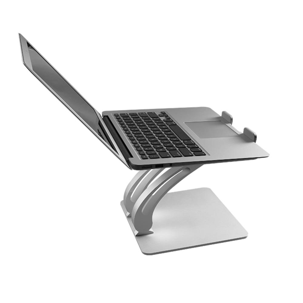 Grand support d'ordinateur portable réglable avec ventilateur de refroidissement USB Hub, support de refroidissement pour ordinateur portable pour MacBook Air/Pro 11-17 pouces