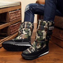 Designer new snow boots mens winter shoes warm fashion black female tube sneakers men