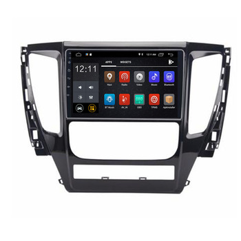 Android 10 Car DVD Player GPS Navigation For MITSUBISHI PAJERO Sport 2016 2017 2018 2019 unit stereo Radio Multimedia image
