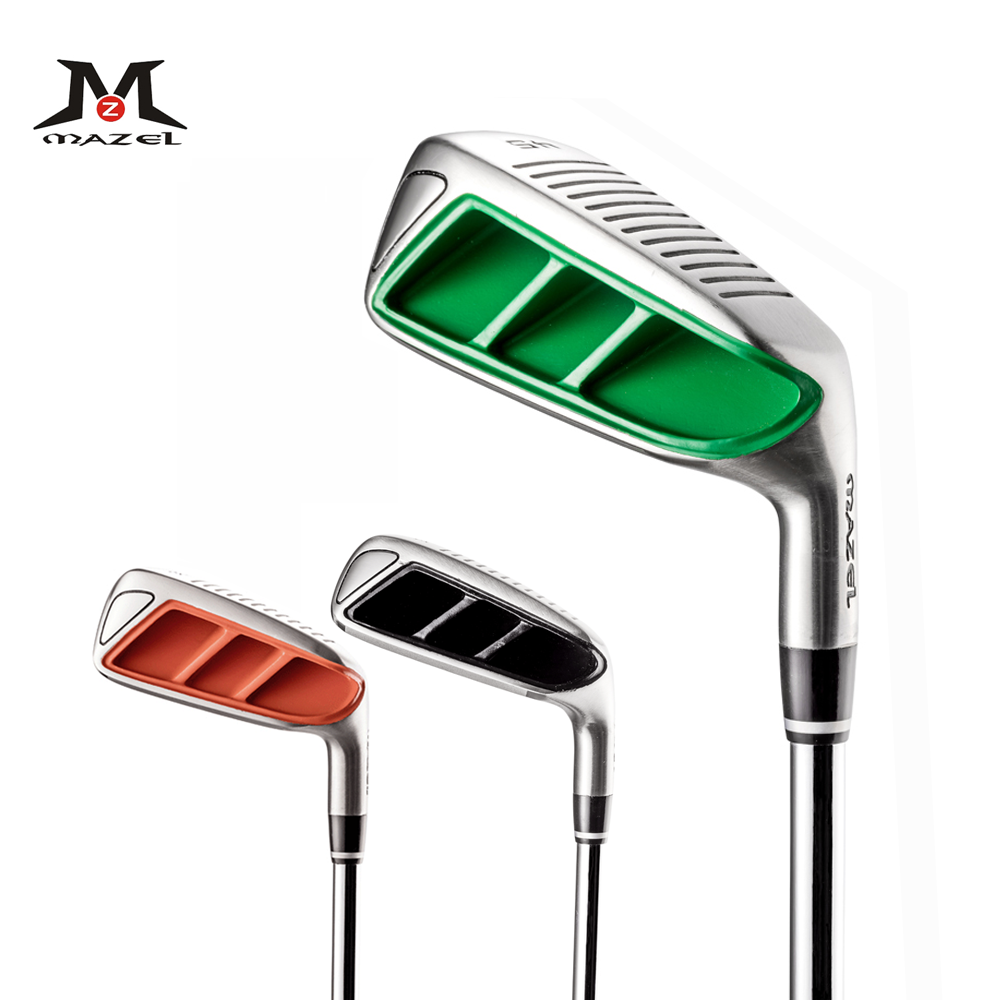 MAZEL hommes Golf cale 35 45 55 60 degrés vert Golf Clubs coin droitier Golf déchiqueteuse Clubs