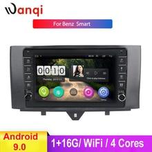 босоножки no 2015 20 stylenanda 2015 9 Inch Car Multimedia Player For Benz Smart Fortwo 2011-2015 Android 9.0 Car Navigation GPS Accessories Knob Car Radio NO DVD