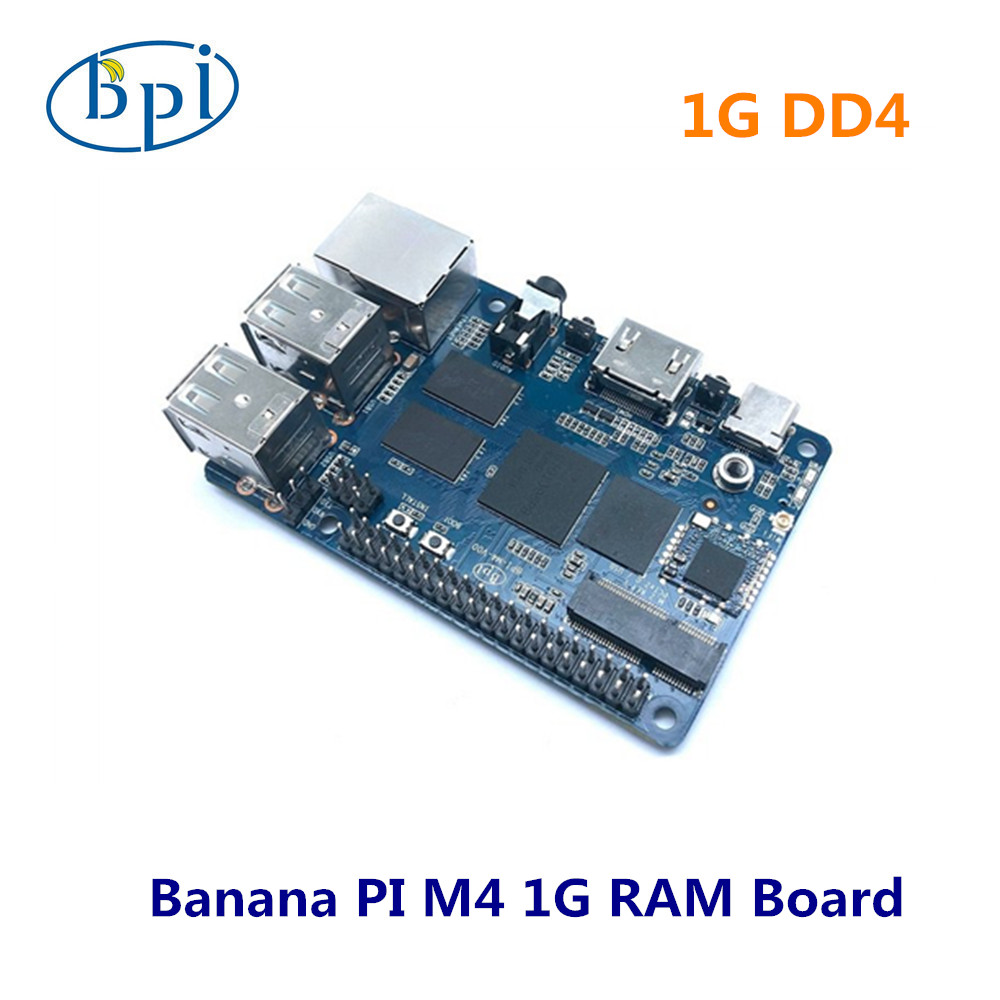Banana Pi BPI M4 Realtek RTD1395 ARM 64 Bit Board ,1G/2G Optional