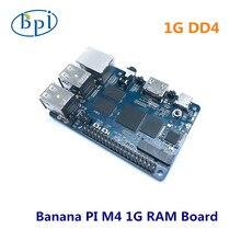 Placa banana pi bpi m4 102rtd1395, placa de braço 64 bits, 1g/2g opcional