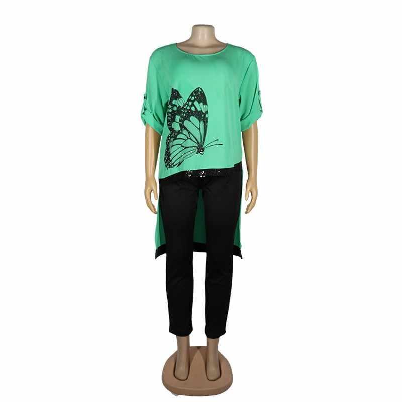 Registyle Africaine Imprimé 2 Pièce Extensible Pantalon /& Haut Tailles UK 10-16