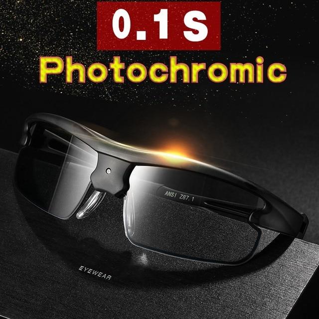 Polarized Photochromic Auto Adjustable Dimming Sunglasses  4