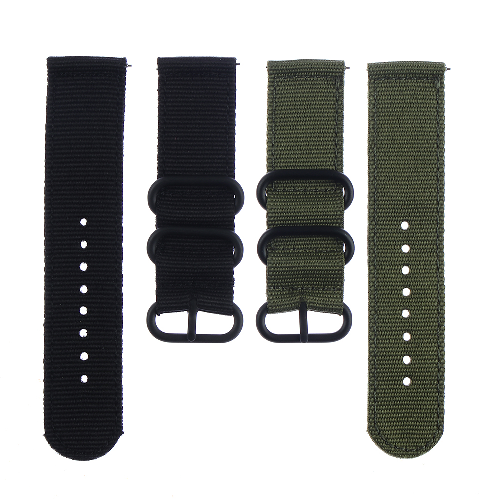Watch Strap Nylon Quick Release Watchband Watch Band Accessories Replacement Band 18mm 20mm 22mm 24mm Watchbands