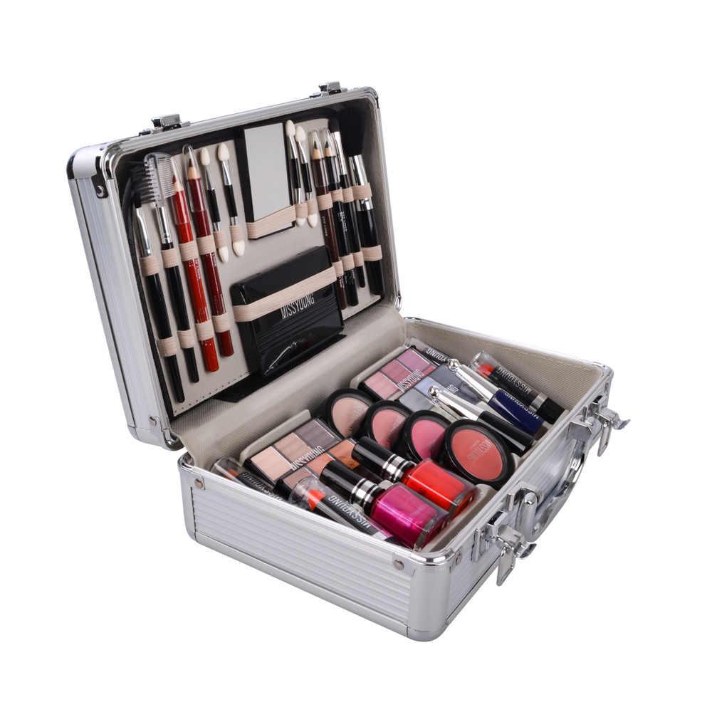 Set Make-up Kit Make-Up Set Box professionele make volledige koffer Set Make-up Voor Vrouwen Lippenstift, make-up Kwasten Set