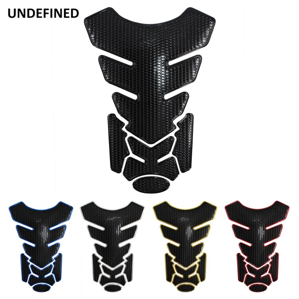 Motorcycle Fuel Tank Sticker 3D Gas Tankpad Protector Fishbone Decals For Honda Yamaha Ducati KTM BMW Universal Pegatinas Moto