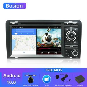 Image 1 - Carro dvd gps de bosion android 10.0 para audi a3 8p 2003 2012 s3 2006 2012 rs3 sportback 2011 multimídia player rádio estéreo