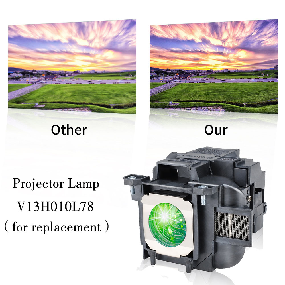 cheapest Free Shipping ELPLP39   V13H010L39 Projector lamp with Housing for Epson EMP TW1000   EMP TW2000   EMP TW700   EMP TW980
