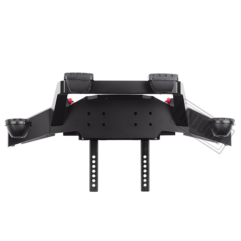 Image 5 - INJORA TRX 4 Metal Front Bumper with Led Light for 1/10 RC Crawler Traxxas TRX4 Sport 82024 4 PartsParts & Accessories   -