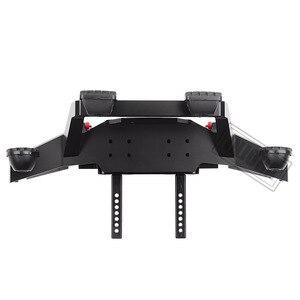 Image 5 - INJORA TRX 4 Metalen Voorbumper met Led Licht voor 1/10 RC Crawler Traxxas TRX4 Sport 82024 4 Onderdelen