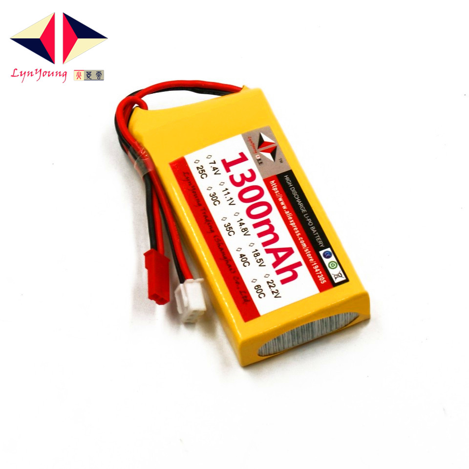 7.4V 1300mAh 25C 30C 35C 40C 60C <font><b>2S</b></font> Lipo <font><b>Battery</b></font> For RC Boat Car Truck Drone Helicopter Quadcopter Airplane Plane UAV image
