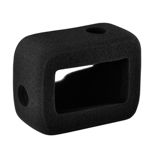 Image 3 - Windslayer for GoPro Hero 8 Black Windshield Wind Foam Cover Wind Noise Reduction Windproof Case for Go Pro 8 Camera Accessories