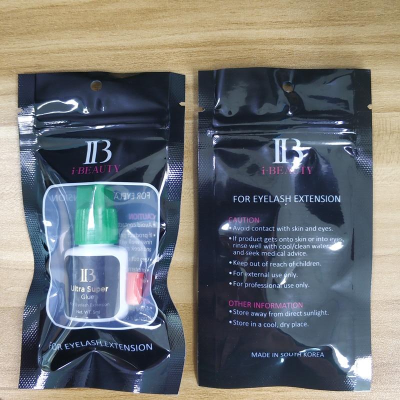 i-beauty IB Ultra super Glue Individual fast drying eyelash extensions glue green cap 5ml/bottle eyelash lash glue Original Shop 6