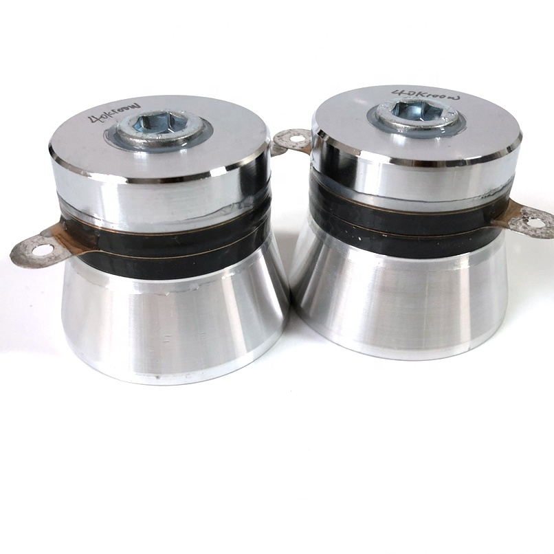 Mechanical Ultrasonic Cleaning Equipment Accessories 100W Ultrasonic Cleaning Transducer Piezo Industrial Cleaning Sensor 40KHZ