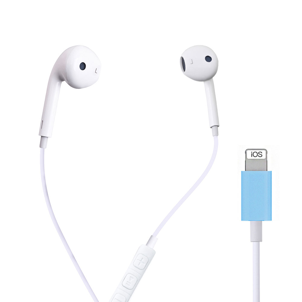 Наушники-вкладыши Проводные Bluetooth для Apple IPhone 10 11 Pro X XR XS Max 7 Plus, наушники-вкладыши с микрофоном, наушники-вкладыши не беспроводные