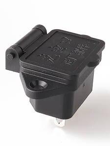 LZ-14-1-02 Waterproof  IEC320 C14 3p  AC inlet Power socket with waterproof cap