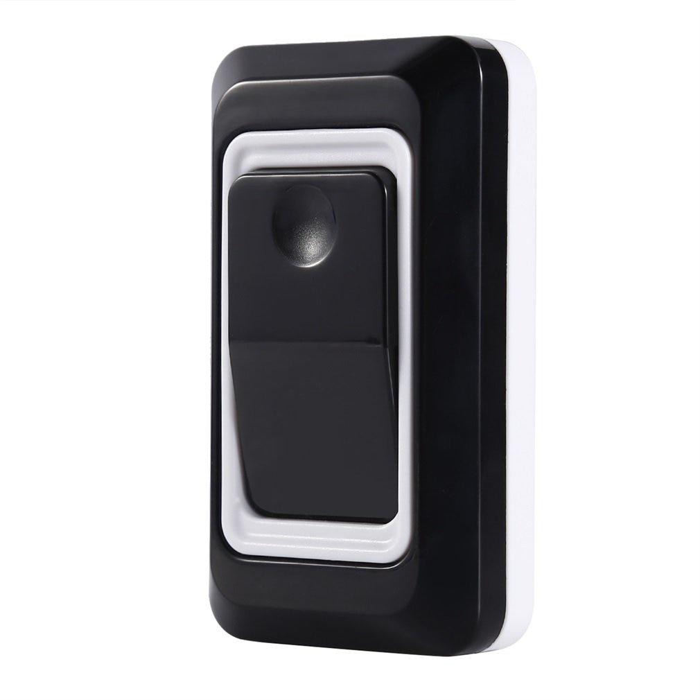 Timbre inalámbrico portátil inalámbrico Digital inalámbrico Kit de timbre de puerta impermeable de 300 pies/m con receptores enchufables