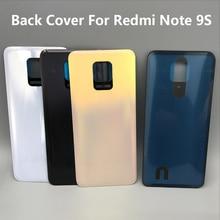 Lưng Pin Cửa Nhà Ở Lưng Có Keo Dán Miếng Dán Linh Kiện Thay Thế Dành Cho Xiaomi Redmi Note 9S