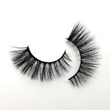 LANJINGLIN 5/7/10 pairs فو ثلاثية الأبعاد المنك جلدة الطبيعية طويلة الرموش الصناعية حجم رموش اصطناعية ماكياج تمديد الرموش maquiagem