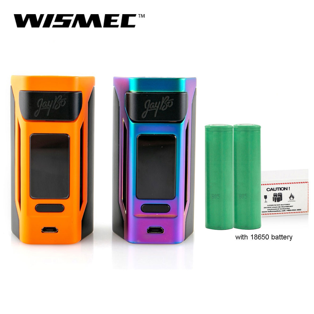 [RU] Clearance Original Wismec Reuleaux RX2 20700 TC Box Mod Output 200W VW/TC/TCR Mode 18650 Battery Electronic Cigarette
