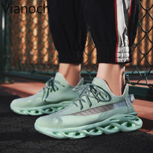 2019 New Fashion Men Sneakers Lace Up Breathable Shoes Man Big Size 44 45 46 bb0012 цены онлайн