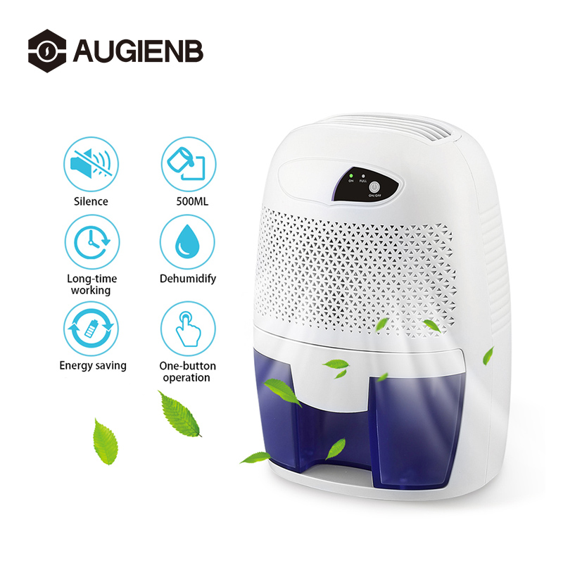 500ml Semiconductor Dehumidifier Mini Portable Home Officce Air Dryer Desiccant Moisture Absorber Low Noise Cabinet Dehumidifier